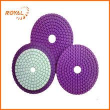 50-3000 grit diamond angle grinder polishing pad