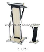 New Designs Wooden Pulpit Podium,Modern Metal Podium
