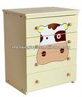 Cowabunga Wooden Kids Furniture Set / Cabinet /Desk /Chair/Easel