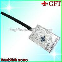 Masonic Symbol Jewels Lugeage Tag GFT-LT320