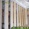 Auditorium Wooden Acoustic Movable Wall Partition System