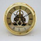 skeleton insert clock metal clock insert accessory AA battery 3 inch