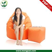 Pear shaped beanbag sofa chair, Single sun lounger bean bag chair