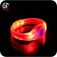 New Products For 2014 Flashing Glow Slap Bracelet