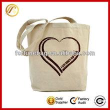 Portable reusable canvas shopping bags