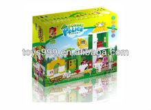 Educational Toys 81pcs DIY Happy Farm Building Block STP-227096