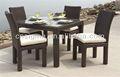 Mobilier d'extérieur en rotin restaurant 2014 diplastic table et une chaise