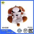Custom Lovely squeaky stuffed plush dog toy wholesale