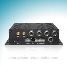 H.264 D1 GPS 3G WIFI 4ch mobile dvr from original manufacturer