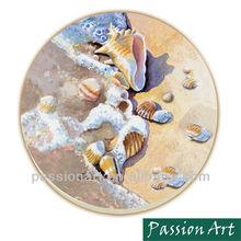 Summer Time Sea Style Ceramic Round Coaster
