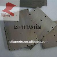 electrode titanium plate