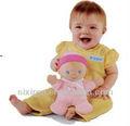 Brinquedos engraçados para crianças/calma boneca
