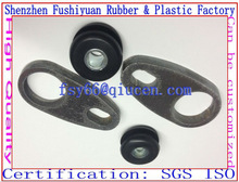 30x50M3 M4 M6 M8 M10 M14 M16 NR BR EPDM NBR custom Rubber gasket fixed connection pads