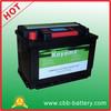 highest quality 12V 80AH starting/ starter battery JIS standard auto battery