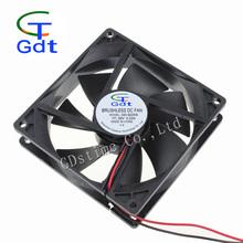 90mm x 90mm x 25mm 3.5 Inch 5V 12V 24V DC 12 Volt Cooling Fans