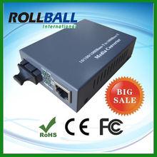 single fiber dual mode 10/100m simplex single mode media converter