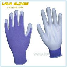 Purple Nitrile Coated Working Gloves
