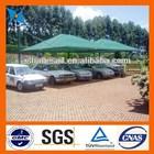 Green car parking sun shade, shade cloth HDPE material,anti UV at least 5 years