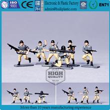 mini soldier 3d plastic figure; cute soldiers custom 3d plastic figurine toys;collectible plastic figure toys