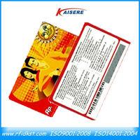 Code 128 Barcode Membership Plastic Cards