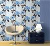 2014 hot sale flower design pvc vinyl wallpaper