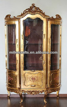 Three doors antique wine cabinet,antique furniture