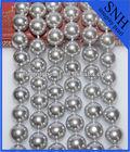 Nice quality light gray pearl string, big round sea shell pearl