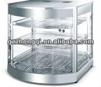 stainless steel food display case