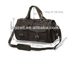 2013 multi-functional pocket Rare Crazy Horse Leather vintage travelling bags for men manufacturers online