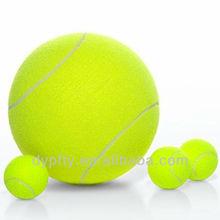 promotional yellow Inflatable jumbo tennis ball 9.5inch