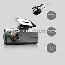 HD Car Dvr Black Box / 2.7 inch Dual Camera Car DVR