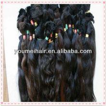 alibaba hot selling factory price european virgin brazilian and peruvian hair bulk