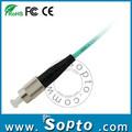 Fc patch cable de fibra fc de fibra óptica lc a/sc/conectores st om3 parche cable
