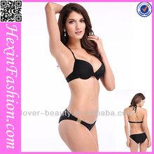 Wholesale Newest Model Sexy Girl Black Mini Bikini