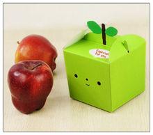 Christmas apple fruit packagiing design