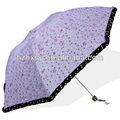 4 setions guarda-chuva telescópico