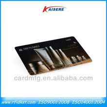 Manufacturer of cosmetic vip membership cards
