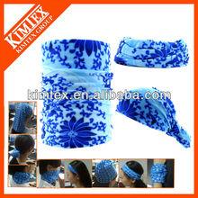 Multifunctioanl printed magic bandana,sego headtie