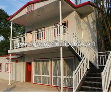 Economic and easy build prefabricated villa