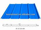 Color coated aluminum/galvanized roofing corrugated sheet