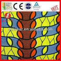 100% Cotton Super Wax Java Print Fabrics