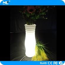 Shenzhen modern design home/garden/party decoration waterproof high tech led flower vase light/led flower vase
