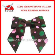 custom design printed ribbon flower making