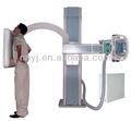 Alta freqüência digital u-braço 500ma máquina de raio x com flat panel detector de raios x
