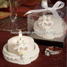 Elegant Heart Design Candle for wedding favor gifts