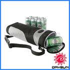 Promotion gift golf cooler bag 6 packs, wholesale bottle cooler ice bag