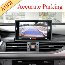 CE &Rosh parking sensor kit built-in accurate parking guidance lines AV/NAVI GPS for optional