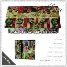 1070D Tyvek Wallet printed creative purse waterproof Paper Wallet printed wallet for women of cartoon style