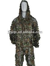 militar del ejército ligero bosques ghillie traje