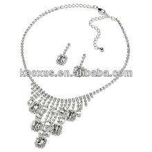 Rhinestone Diva bridal Jewelry Set